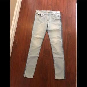 Levi's duo tone denim skinny jeans 29